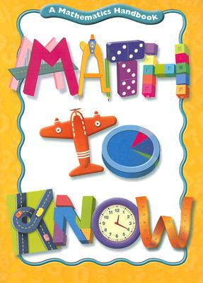 Great Source Math to Know By Cavanagh, Mary C.